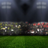 Stadium in lights Stock Photography