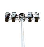 Stadium lights, isolated Royalty Free Stock Photo