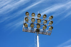 Stadium lights Stock Photos