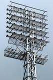 Stadium lights tower Royalty Free Stock Image