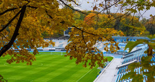 Stadium Lobanovsky in Kievn Royalty Free Stock Photography