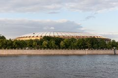 The stadium Luzhniki Royalty Free Stock Photography