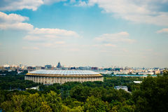 Stadium Luzniki at Moscow Stock Image