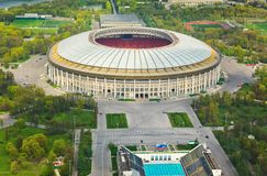 Stadium Luzniki at Moscow, Russia Royalty Free Stock Photo