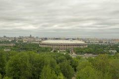 Stadium Luzniki at Moscow, Russia Royalty Free Stock Photos