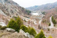 Free Stadium Medeo, Highest Skating Rink In World In Almaty, Kazakhstan,Asia. Royalty Free Stock Photography - 40896147