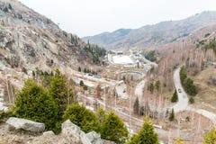 Free Stadium Medeo, Highest Skating Rink In World In Almaty, Kazakhstan,Asia. Stock Photos - 41408243