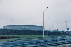 Stadium, modern architecture in Wroclaw Poland Stock Image
