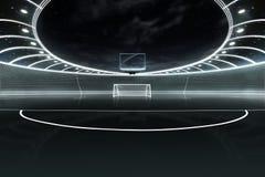 Stadium neon Stock Images