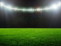 Stadium night Stock Images