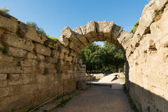 Stadium at Olympia, Greece Royalty Free Stock Photo