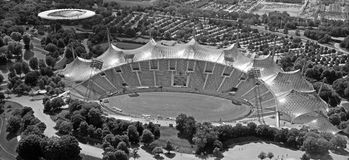 Stadium of the Olympiapark Royalty Free Stock Photography