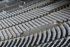 Stadium of olympic games of Barcelona. Royalty Free Stock Photography