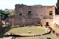 Stadium at the Palatine Hill in Rome, Italy Stock Photos