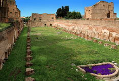 Stadium at the Palatine Hill, Rome Royalty Free Stock Image