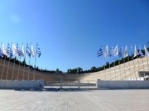 The Stadium Panathinaikos (Athens) Stock Photos