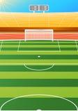 stadium piłkarski Zdjęcie Stock