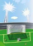 Stadium piłkarski. Zdjęcia Royalty Free