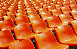 Free Stadium Plastic Seats Royalty Free Stock Photo - 53573425