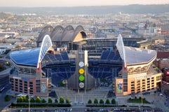 Stadium Qwestfield in Seatte stock photos