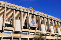 Stadium of Real Madrid, Spain Royalty Free Stock Image