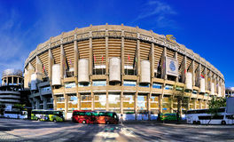 Stadium of Real Madrid, Spain. The stadium of Real Madrid, one of Spain's best and most famous footbal clubs. The Arena is called the Estadio Santiago Bernabeu Stock Images