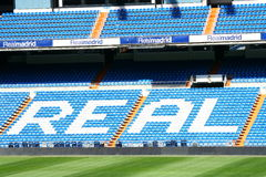 Stadium of Real Madrid. Santiago Bernabeu stock image