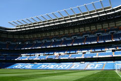 Stadium of Real Madrid. Santiago Bernabeu Royalty Free Stock Photography