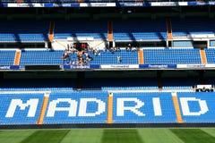 Stadium of Real Madrid. Santiago Bernabeu stock photos