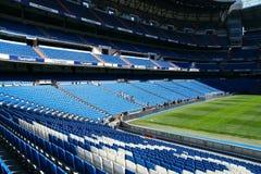 Stadium of Real Madrid. Santiago Bernabeu stock photography