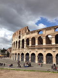 Stadium of Rome. Beautiful structure in Rome, Italy Stock Image