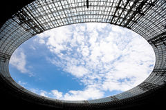 Stadium roof Stock Photo