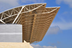 Stadium roof. Stock Image