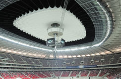 Stadium roof Royalty Free Stock Images