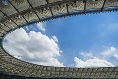 Stadium roof Royalty Free Stock Photography
