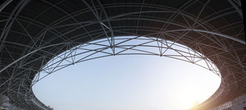 Stadium roof Stock Photos