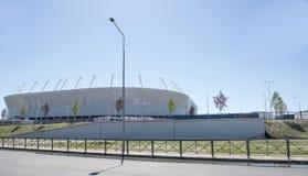Stadium ` Rostov areny `, budujący dla pucharu świata 2018 Obrazy Royalty Free