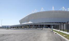 Stadium ` Rostov areny `, budujący dla pucharu świata 2018 Zdjęcia Stock