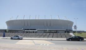 Stadium ` Rostov areny `, budujący dla pucharu świata 2018 Zdjęcie Stock