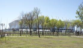 Stadium ` Rostov areny `, budujący dla pucharu świata 2018 Fotografia Stock