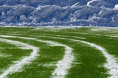 Stadium rozjaśniający śnieg Fotografia Royalty Free