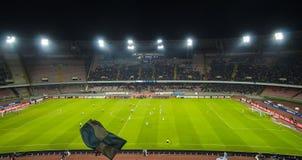 Stadium San Paolo , Napoli. Stadium San Paolo during the match Napoli vs Udinesse stock photography