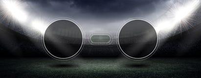 Stadium score concept Stock Photo