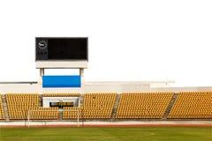 Stadium with scoreboard Royalty Free Stock Photos