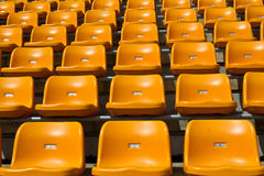 stadium seat Royalty Free Stock Photography