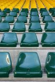 Stadium Seat. Empty stadium seat Stock Image