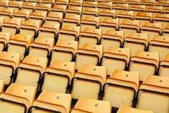 Stadium seat Stock Images
