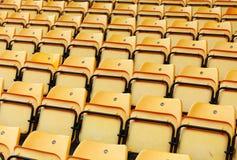 Stadium seat Royalty Free Stock Images