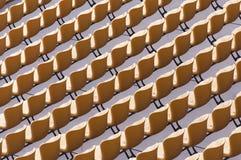 Stadium seat Stock Photography