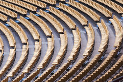Stadium seat Royalty Free Stock Photos
